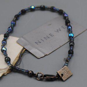 "NWT Vintage Retro Nine West Beaded Bracelet 8"""